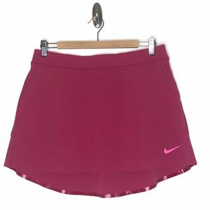 Nike Golf Dri-Fit Athletic Skirt Pink Size M